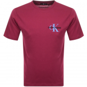 Product Image for Calvin Klein Jeans Monogram Logo T Shirt Pink