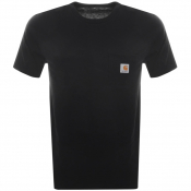 Carhartt Short Sleeved Pocket T Shirt Black