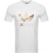 adidas Originals Trefoil T Shirt White