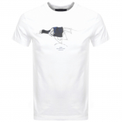 G Star Raw 30 Year Logo T Shirt White
