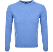 Product Image for Paul And Shark Lambswool Knit Jumper Blue