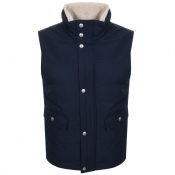 Gant The Weekend Gilet Navy