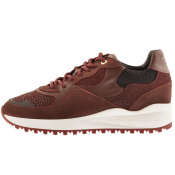 Android Homme Santa Monica Trainers Burgundy