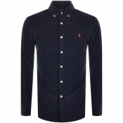 Ralph Lauren Long Sleeved Corduroy Shirt Navy