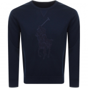 Ralph Lauren Crew Neck Sweatshirt Navy