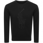 Product Image for Ralph Lauren Crew Neck Sweatshirt Black