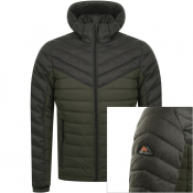 Product Image for Superdry Hooded Down Jacket Green
