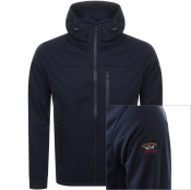Product Image for Paul And Shark Full Zip Hooded Jacket Navy