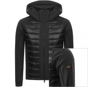 Product Image for Paul And Shark Padded Hooded Jacket Black