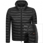 Product Image for Paul And Shark Quilted Hooded Jacket Black
