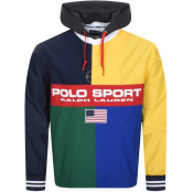 Product Image for Ralph Lauren Rugby Pullover Jacket Navy