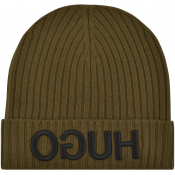 Product Image for HUGO X565 Beanie Hat Green