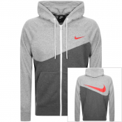 Product Image for Nike Full Zip Logo Hoodie Grey