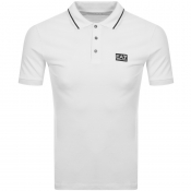 EA7 Emporio Armani Short Sleeved Polo TShirt White