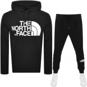 The North Face Standard Logo Tracksuit Black