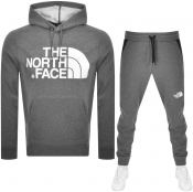 The North Face Standard Logo Tracksuit Grey