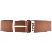 Levis New Ashland Leather Belt Brown