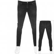 Product Image for Nudie Jeans Skinny Lin Jeans Black