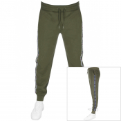 Product Image for Tommy Hilfiger Logo Jogging Bottoms Green