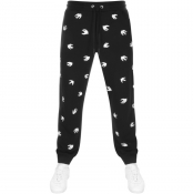 Product Image for MCQ Alexander McQueen Logo Jogging Bottoms Black