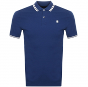 G Star Raw Dunda Polo T Shirt Blue