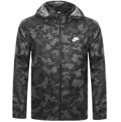 Product Image for Nike Windbreaker Camouflage Jacket Black
