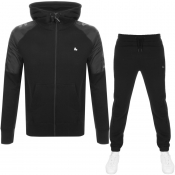 Product Image for Money Nylon Mix Hooded Tracksuit Black