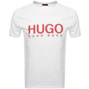HUGO Dolive T Shirt White