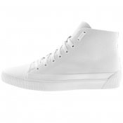 HUGO Zero Hito Hi Top Trainers White