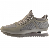 Product Image for Mallet Quilted Diver Trainers Grey
