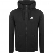 Nike Full Zip Club Hoodie Black