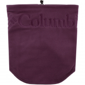 Columbia Fleece Logo Gaiter Scarf Purple