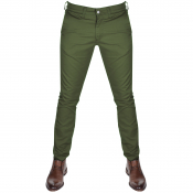 Edwin 55 Chino Trousers Green