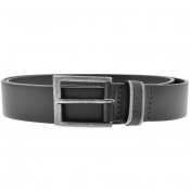 Luke 1977 Kenny Leather Belt Black