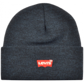 Product Image for Levis Batwing Slouchy Beanie Hat Navy