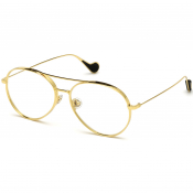 Moncler ML0121 030 Sunglasses Gold
