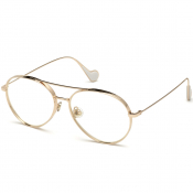 Product Image for Moncler ML0121 033 Sunglasses Gold