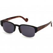 Moncler ML0125 53V Sunglasses Black