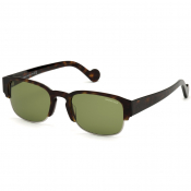 Moncler ML0125 52N Sunglasses Brown