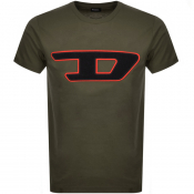 Diesel T Just Division T Shirt Green