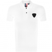 Product Image for Rossignol Short Sleeved Patch Polo T Shirt White