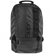 Superdry Slim Line Tarp Backpack Black