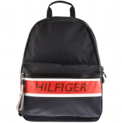Tommy Hilfiger Logo Backpack Navy