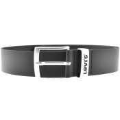 Levis New Ashland Leather Belt Black