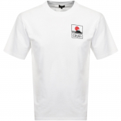 Product Image for Edwin Crew Neck Sunset On Mt Fuji T Shirt White
