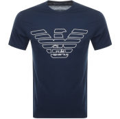 Product Image for Emporio Armani Lounge Crew Neck T Shirt Navy