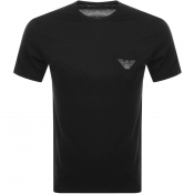 Product Image for Emporio Armani Lounge Crew Neck T Shirt Black