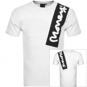 Money Crew Neck Chop Sig T Shirt White