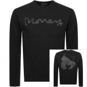 Money Thermo Sig Ape Logo Sweatshirt Black