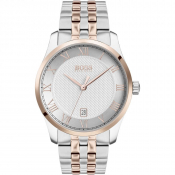 Product Image for BOSS HUGO BOSS 1513738 Master Watch Silver